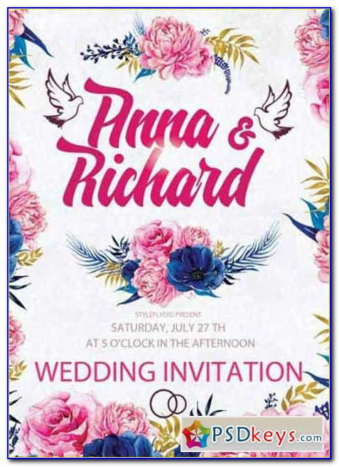 Invitation Poster Template Word