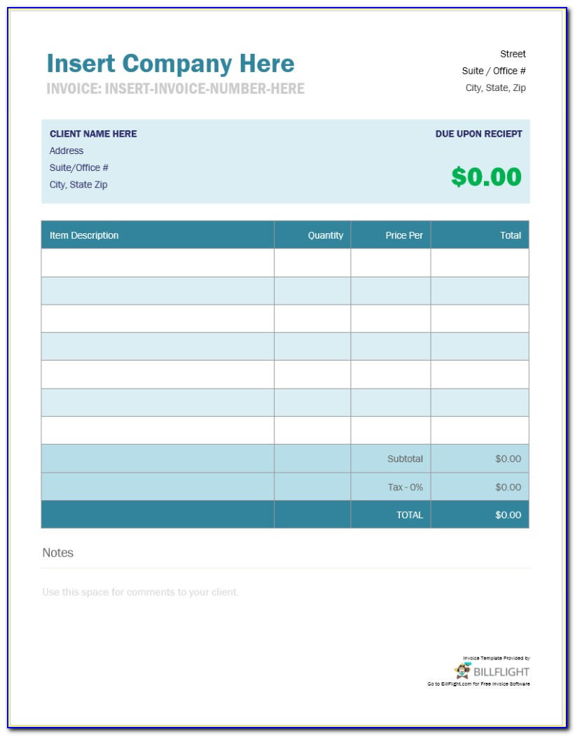 Invoice Delivery Template Builder With Custom Number