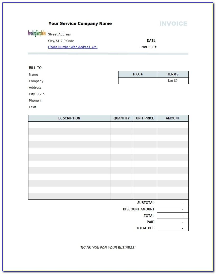 Invoice Form Open Office