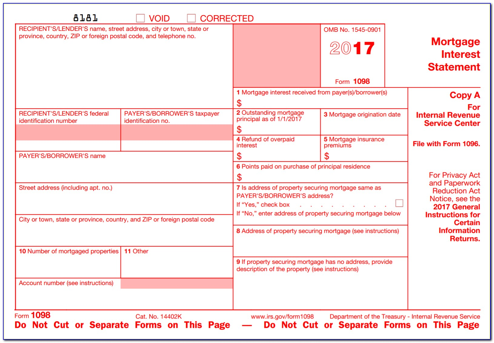 Irs Form 1099 Int 2015
