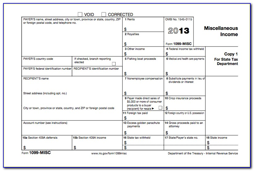 Irs Form 1099 Misc 2017 Pdf