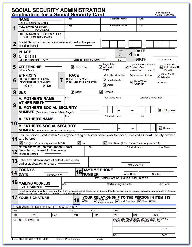 Irs Forms Ein Number