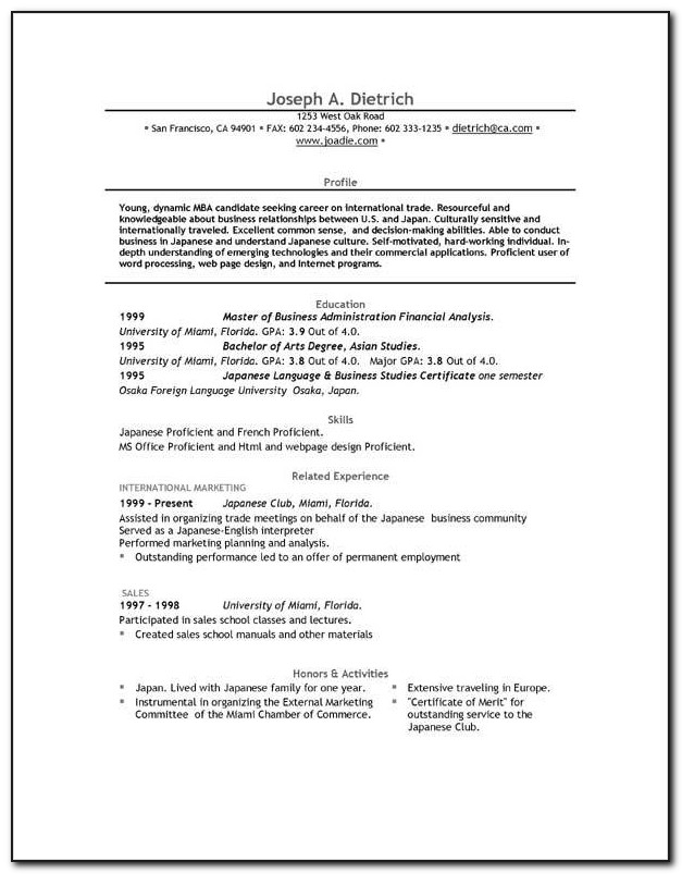 Is There A Completely Free Resume Builder