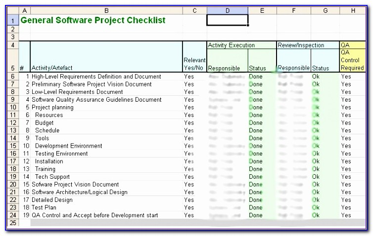 Iso 9001 Checklist Excel Template Mtzhu Elegant Iso 9001 Certification For A Software Development Department