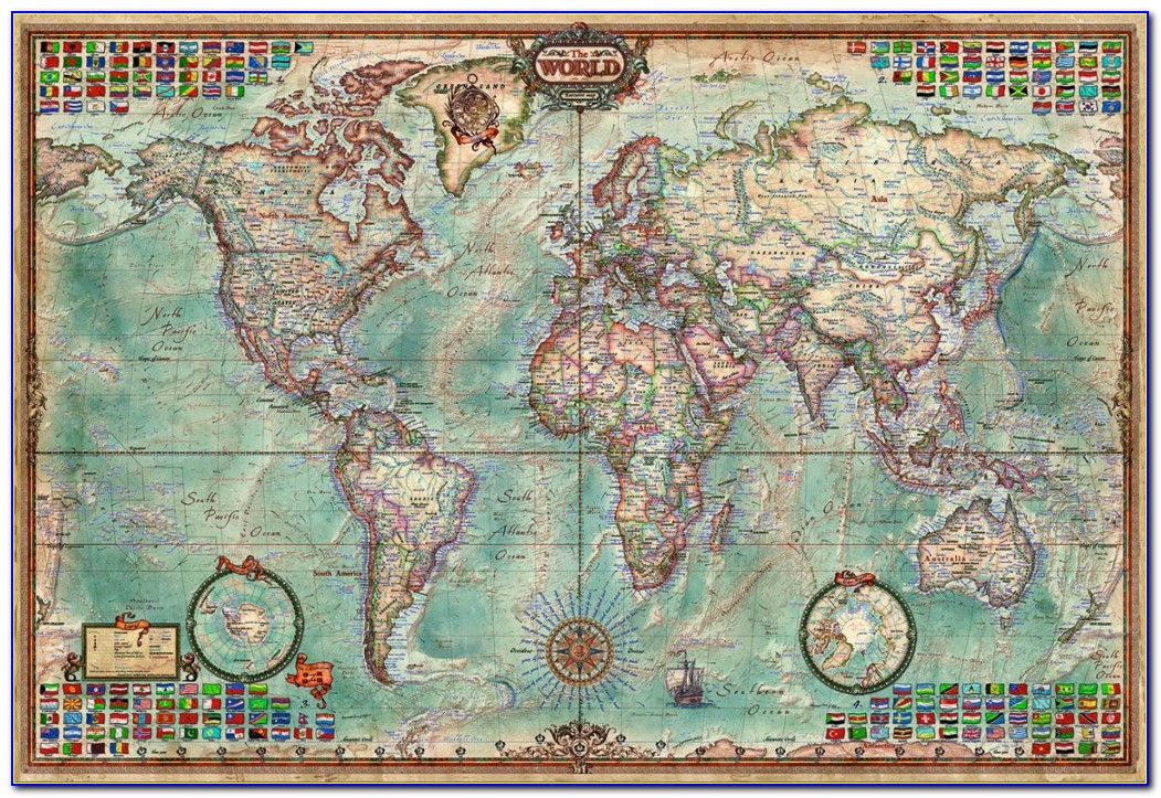 Jigsaw Puzzle Map Of England