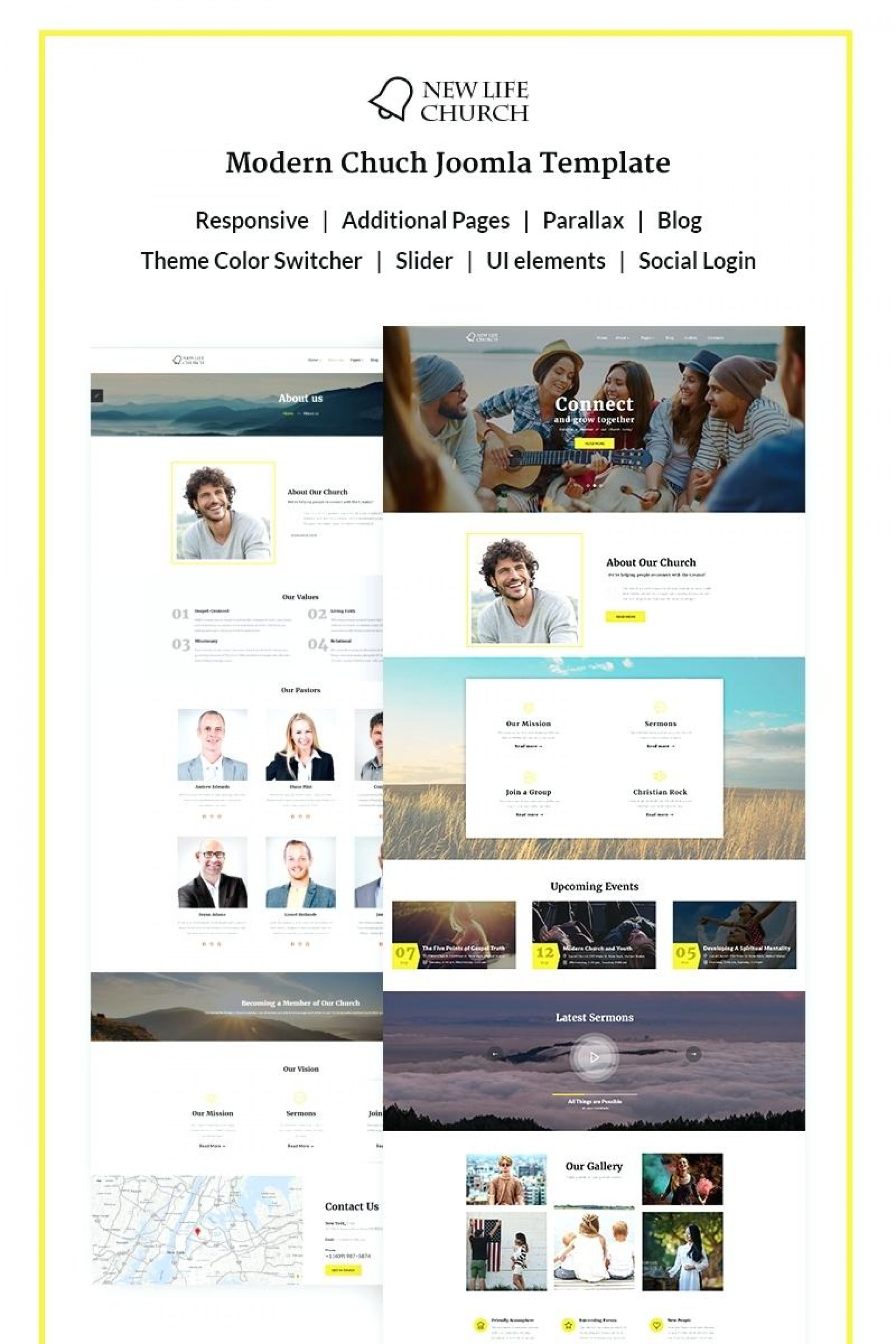 Joomla Church Templates Free Download