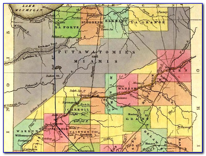 Lake County Indiana Historical Maps