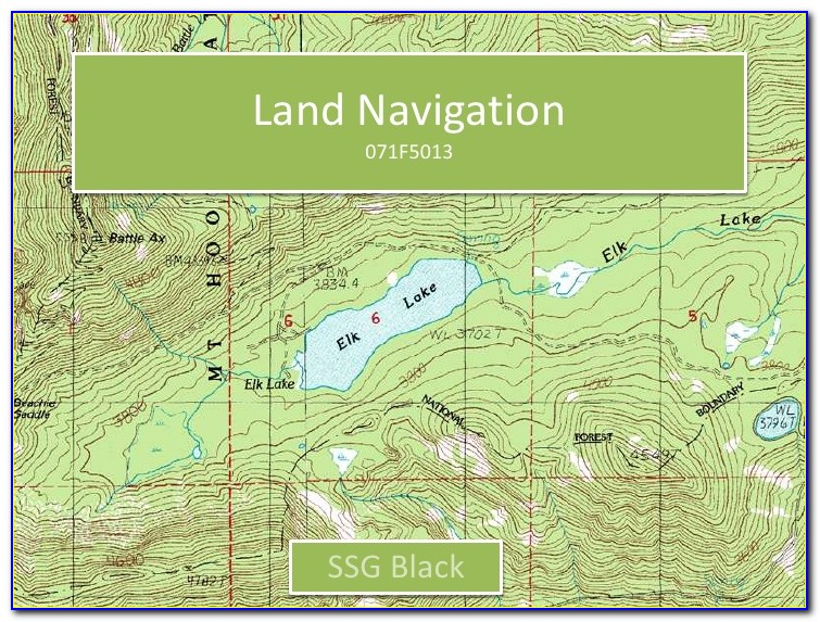 Land Navigation And Map Reading Army Study Guide