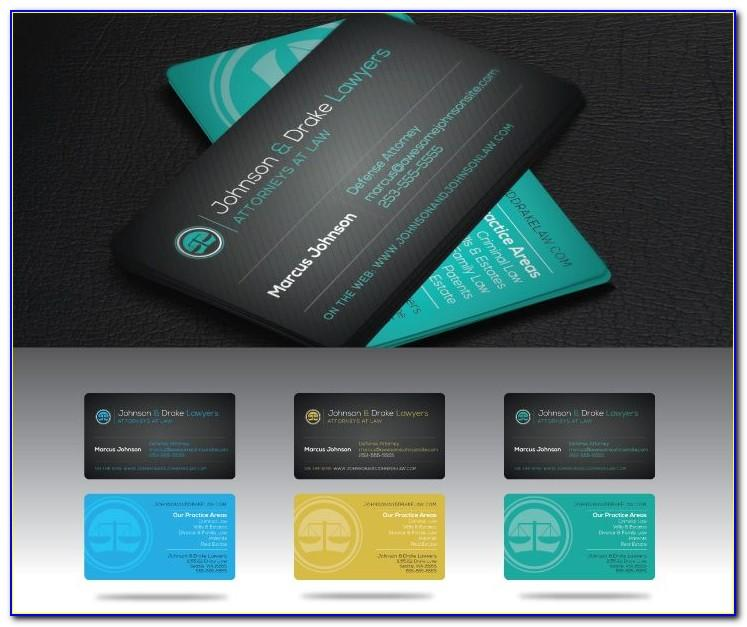 Lawyer Business Card Templates Free Download