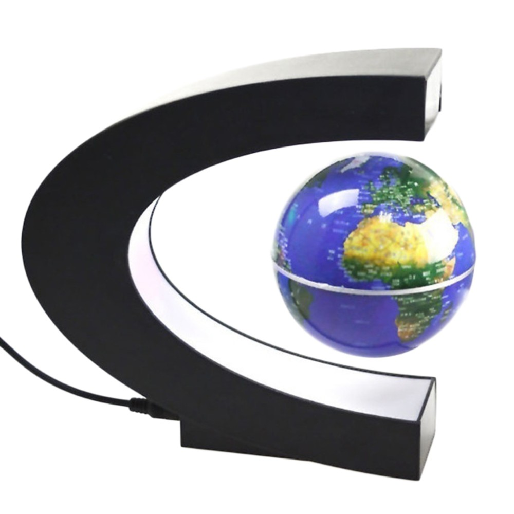 Levitation Anti Gravity Globe Magnetic Floating Globe World Map With Led Light