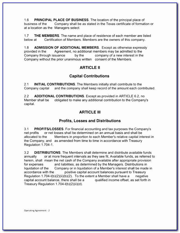 Texas Limited Liability Pany Operating Agreement Texas Llc Simple Limited Liability Partnership Agreement Template Fresh Doc Xls Letter Download Templates Perpo