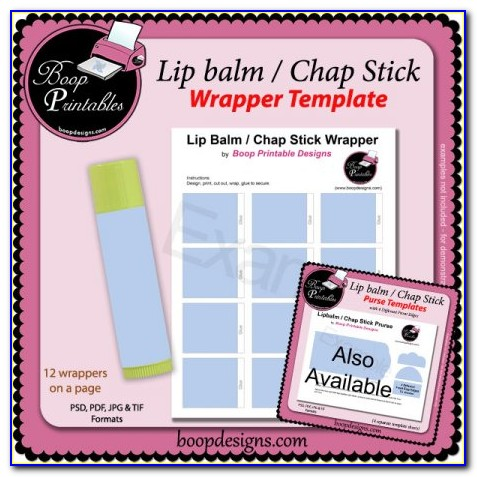 Lip Balm Holder Template