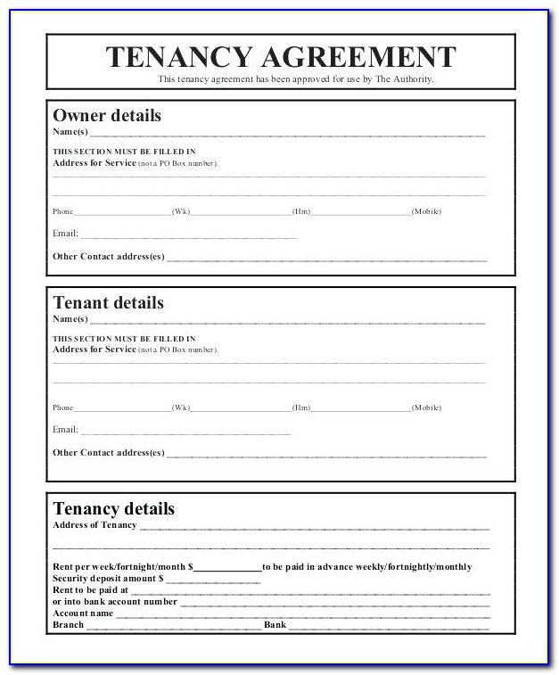 Lodger Agreement Template Free Uk