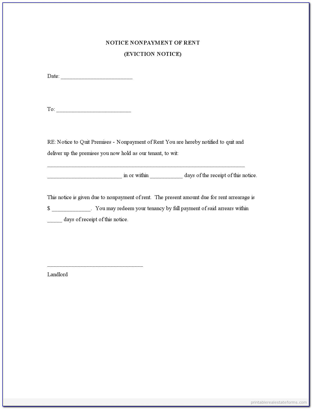 Lodger Eviction Letter Template Uk