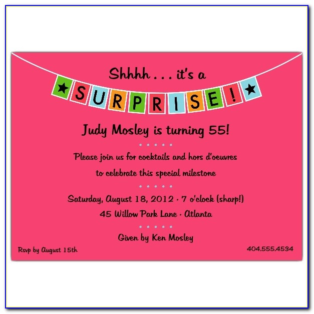 Lol Surprise Party Invite Template