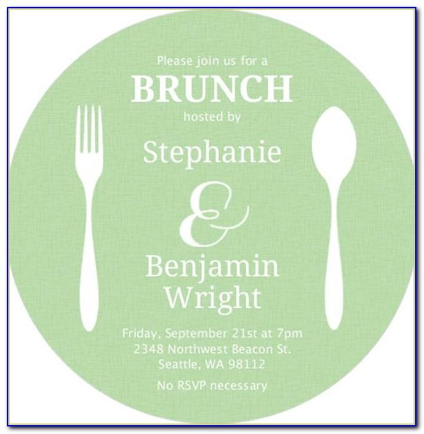 Luncheon Invitation Template Word