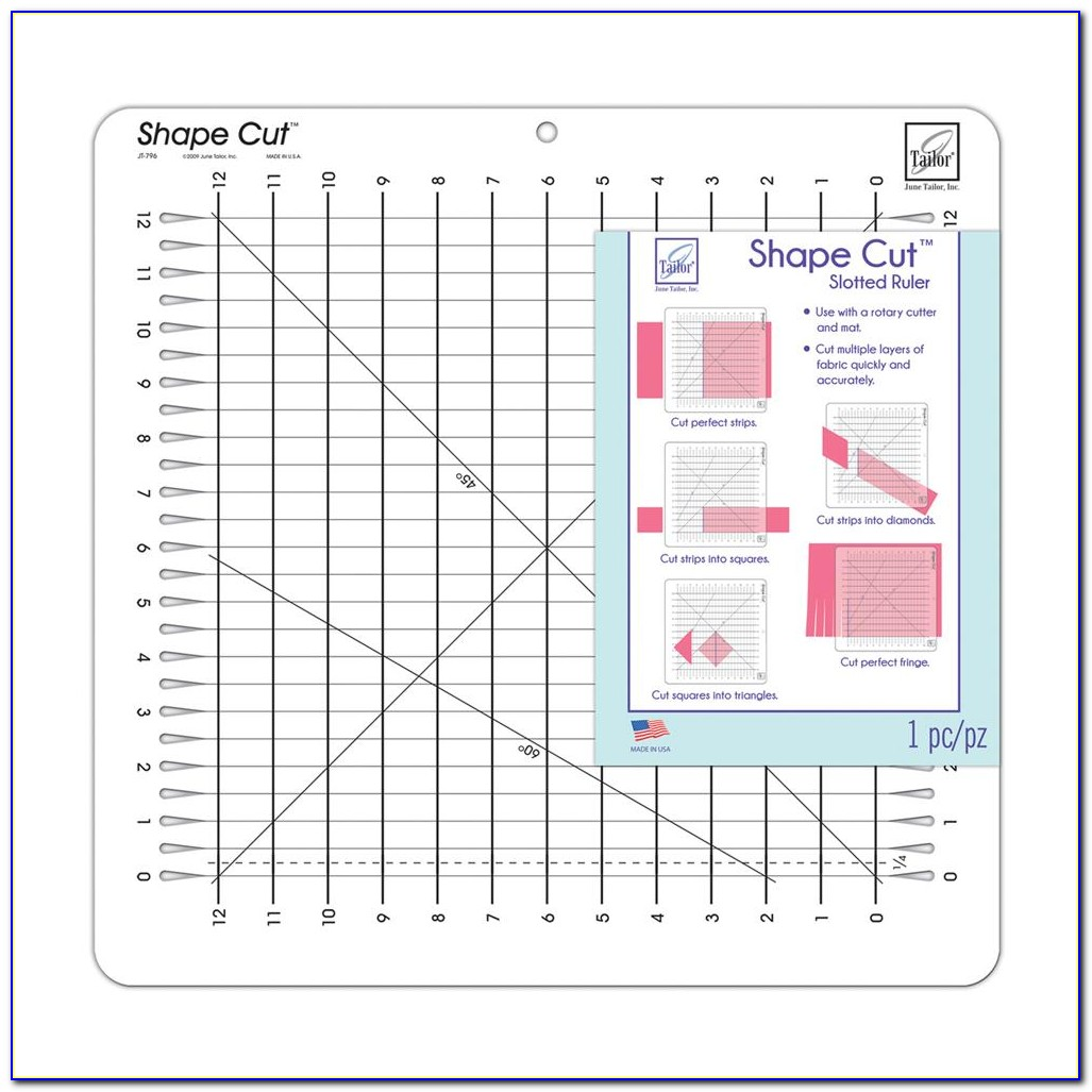 Machine Quilting Rulers And Templates