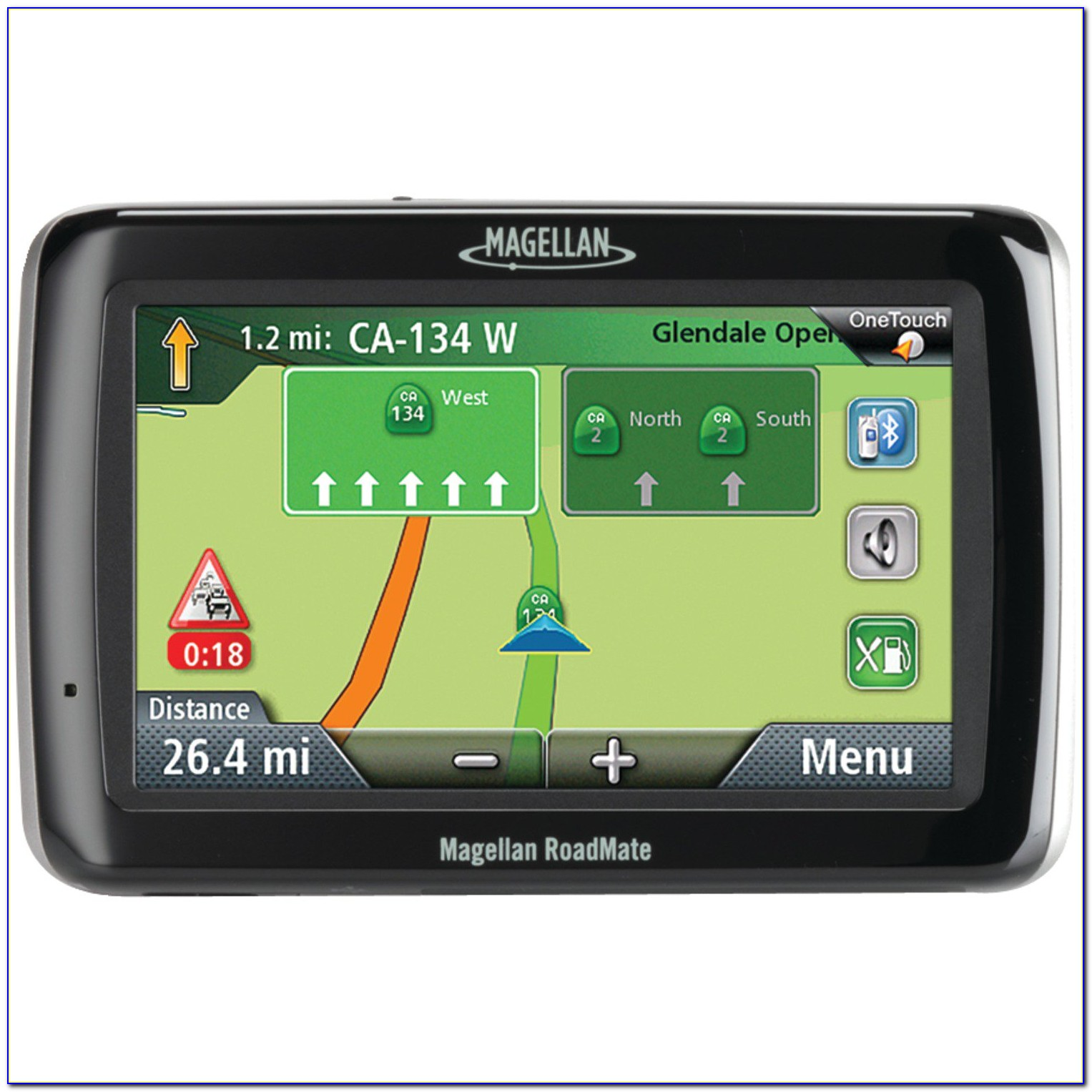 Magellan Roadmate 5 Touchscreen Gps With Lifetime Map Updates