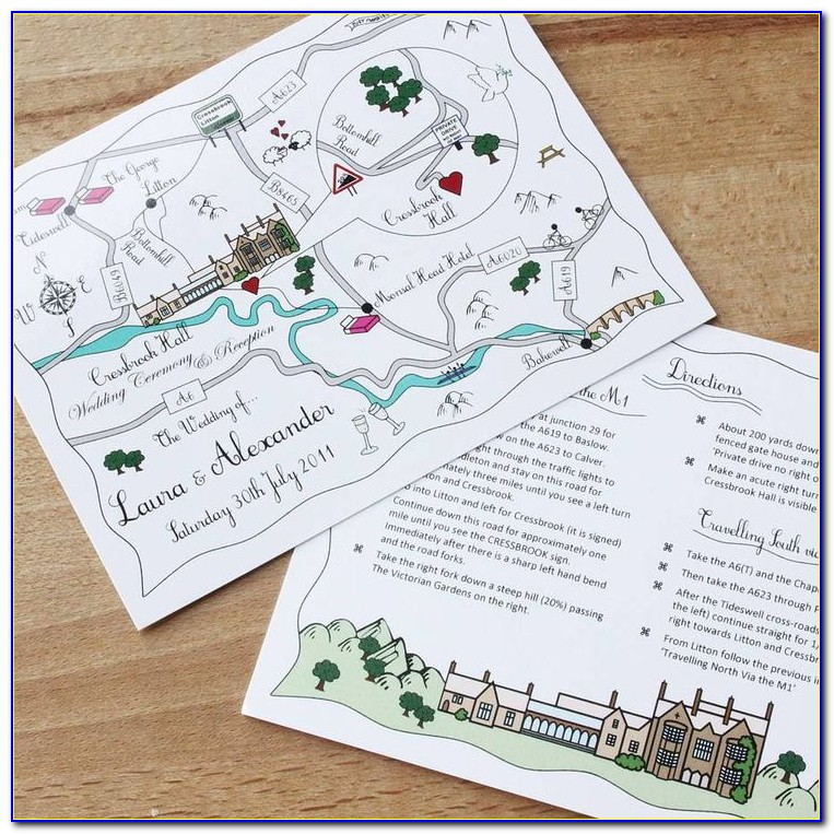 Making Maps For Wedding Invitations