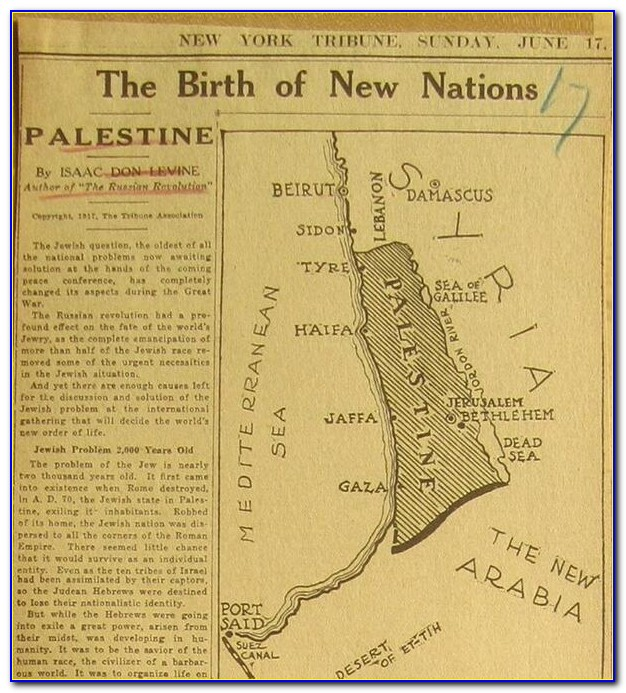 Map Of Ancient Palestine Old Testament