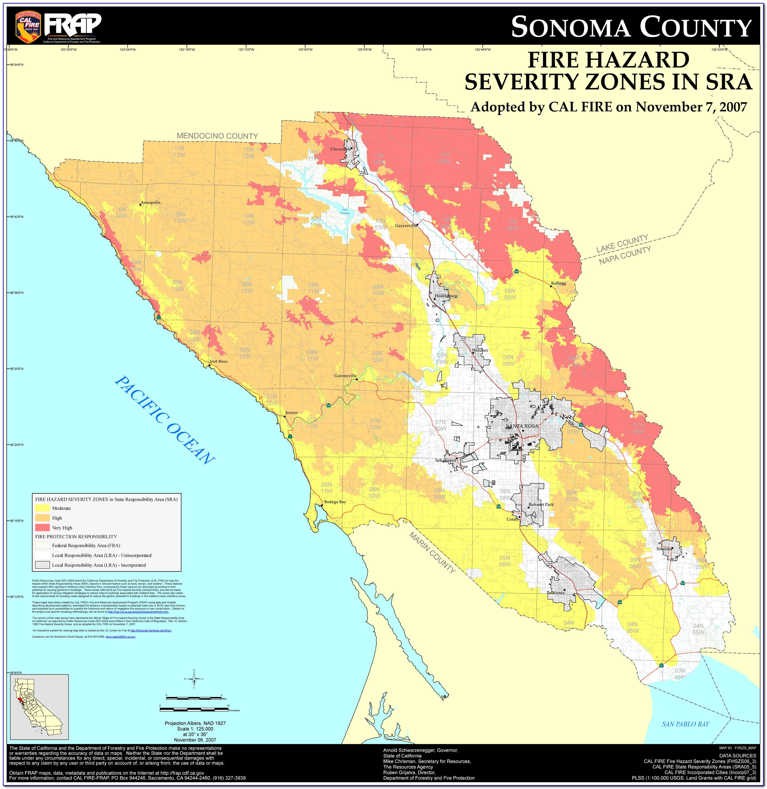 Map Of Central Coast California Wineries