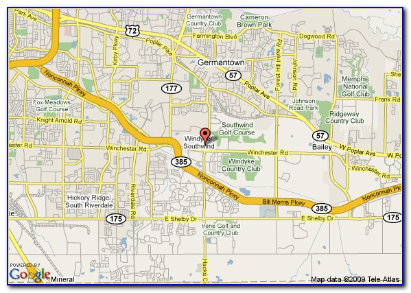 Map Of Downtown Memphis Tennessee