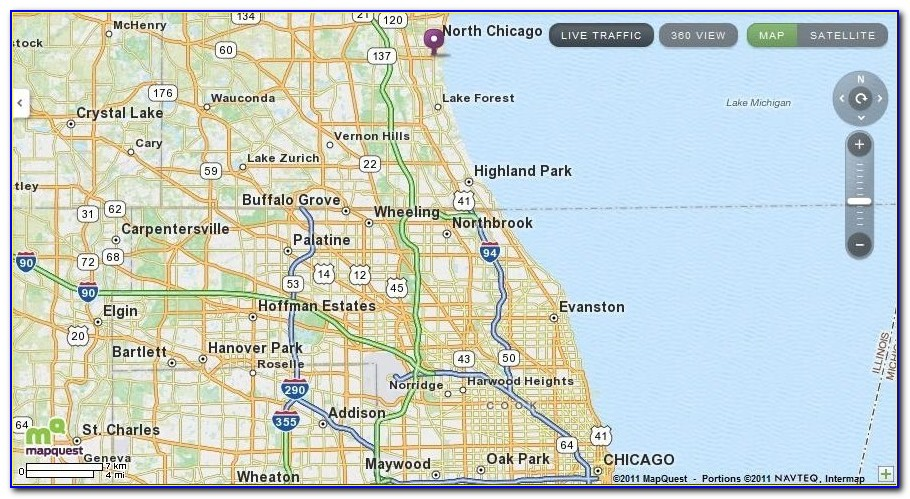 Map Of Great Lakes Il