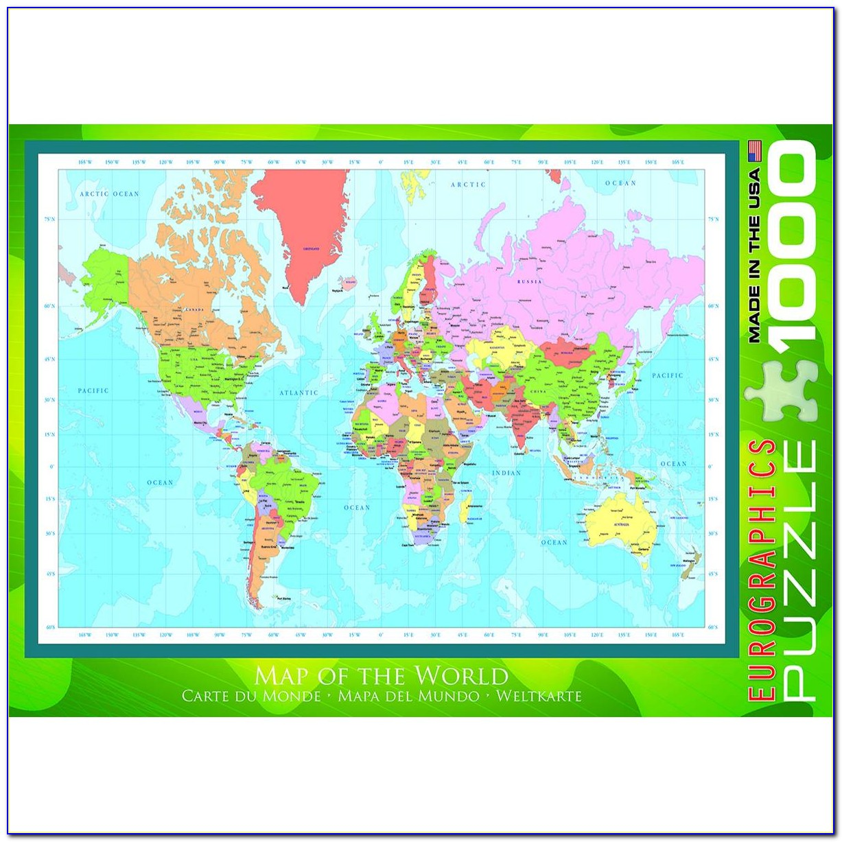 Map Of Middle Earth Jigsaw Puzzle