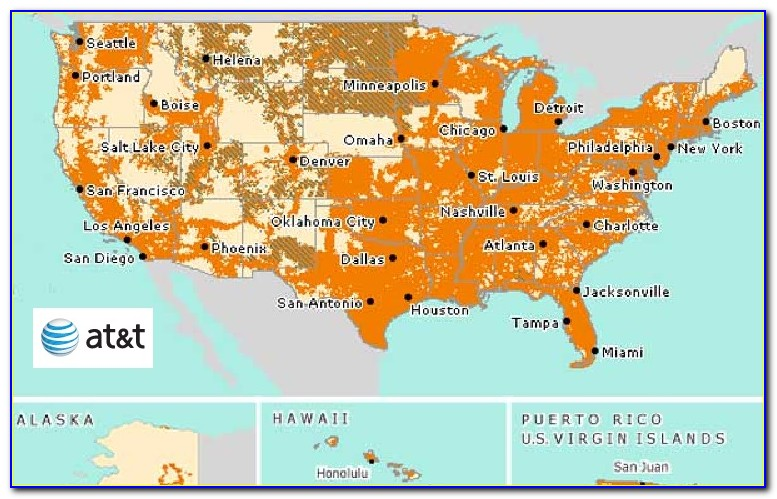 Map Of Verizon Cell Phone Coverage