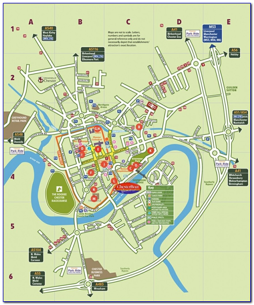 Map Of West Chester Pennsylvania