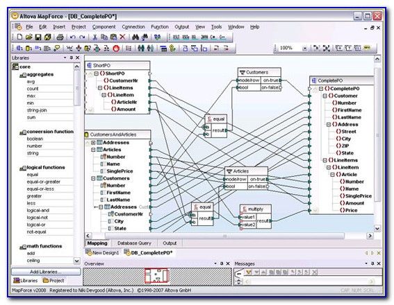 Mapping Data Software