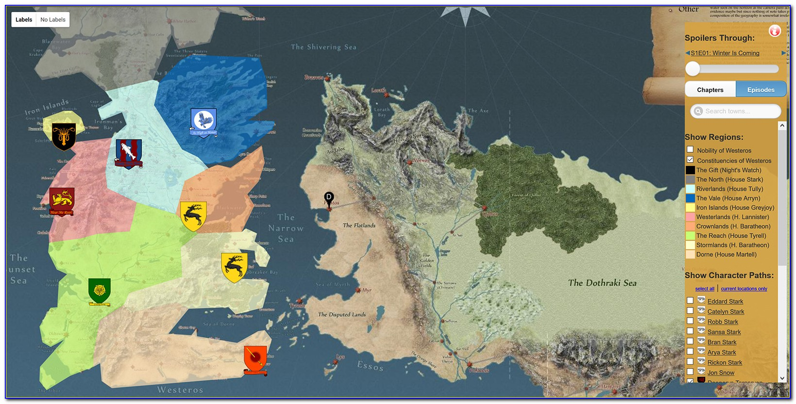Maps Of Game Of Thrones Pdf