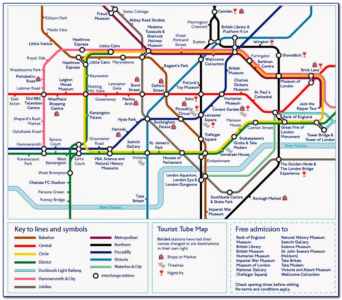 Maps Of London Tube Stations