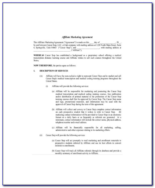 Marketing Agency Service Level Agreement Template