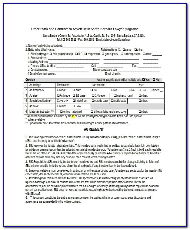 Marketing Agreement Template India