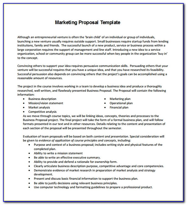Marketing Strategy Plan Template Free