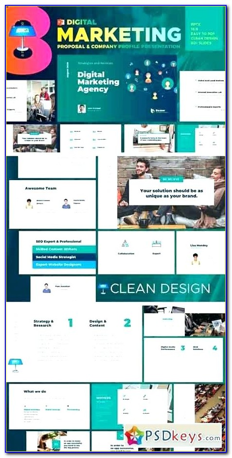 Marketing Website Templates Free Download