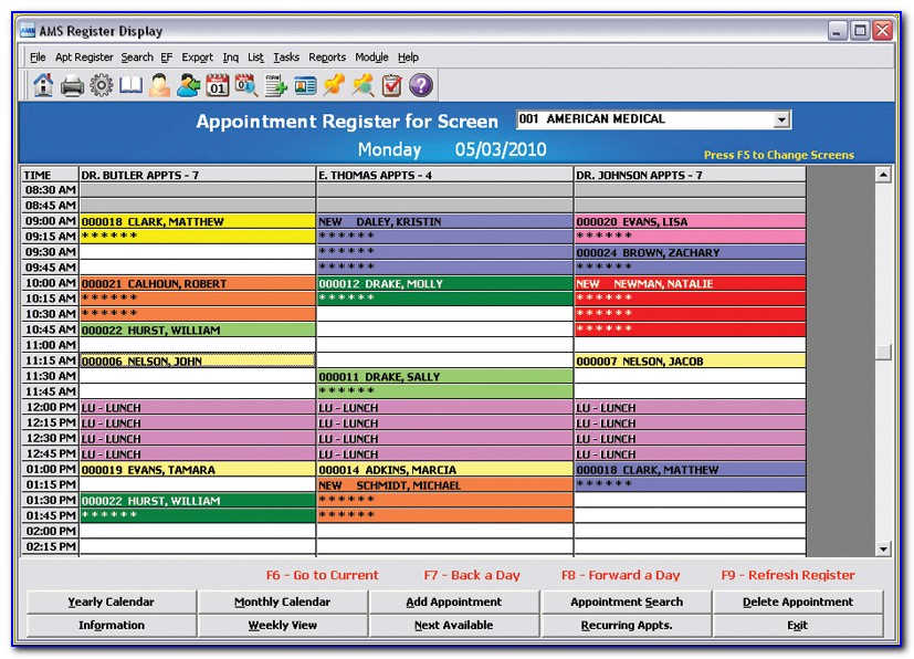 Medical Appointment Scheduling Template