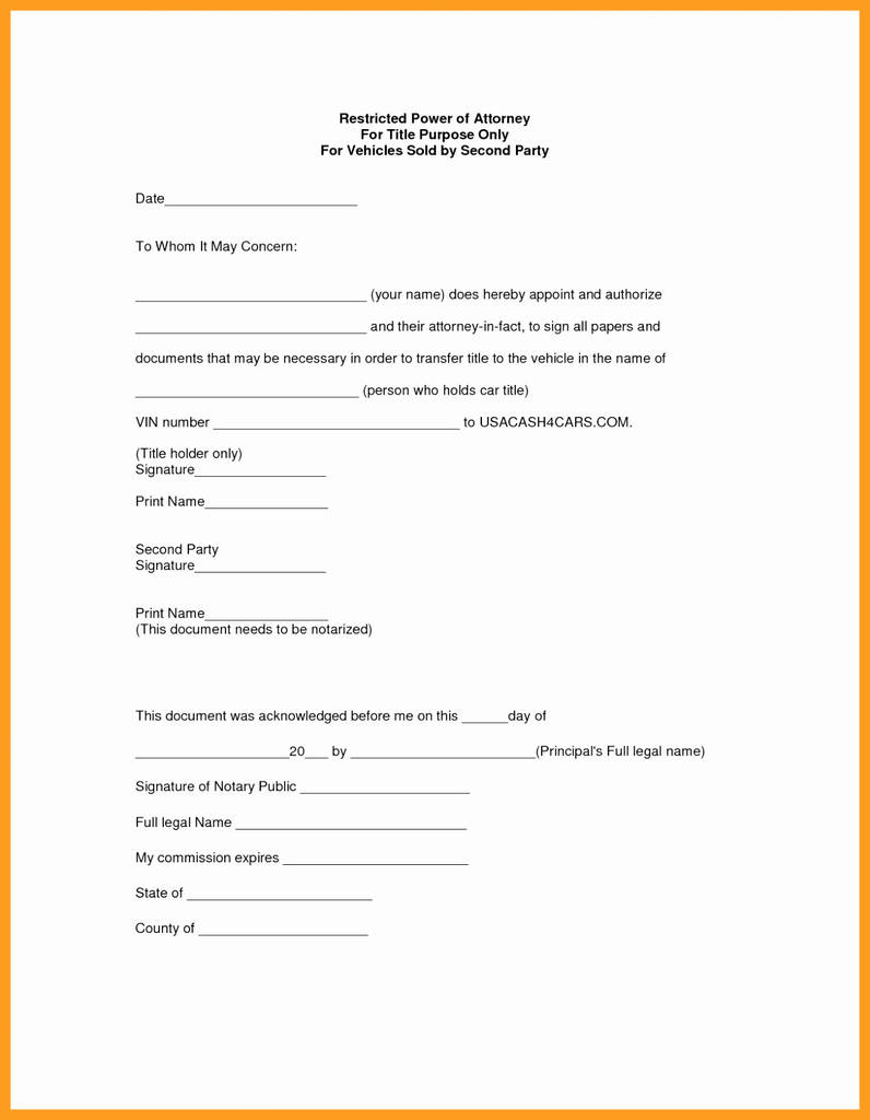 Free Limited Power Of Attorney Form Real Estate Brilliant Power Attorney Indiana Fresh Free Nc Power Attorney Forms To