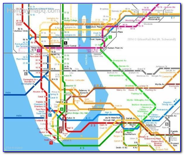 Metro North Train Map Nyc