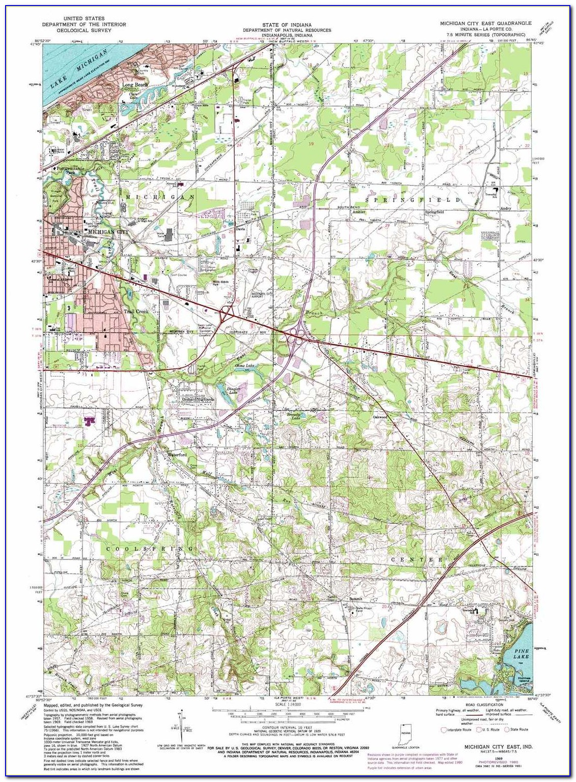 Michigan State Topo Maps