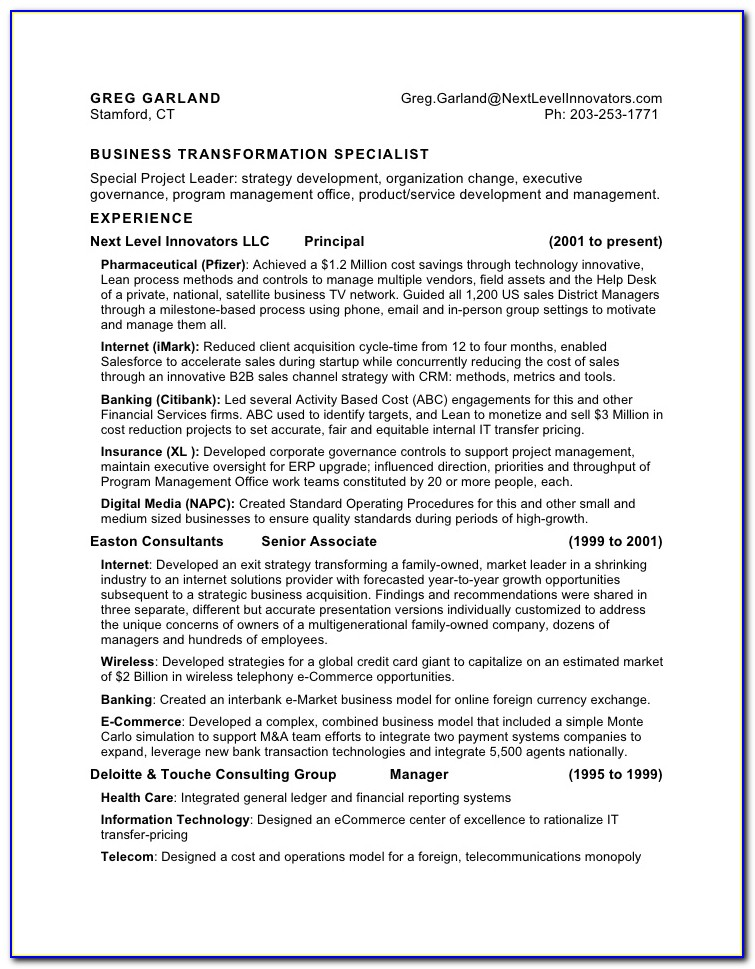 Military To Civilian Resume Writing Services
