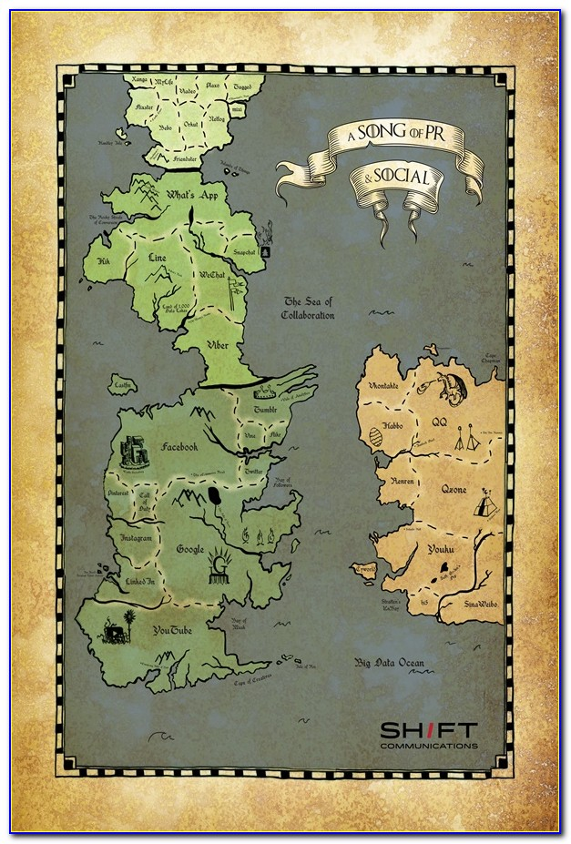 Minecraft Game Of Thrones Wall Map