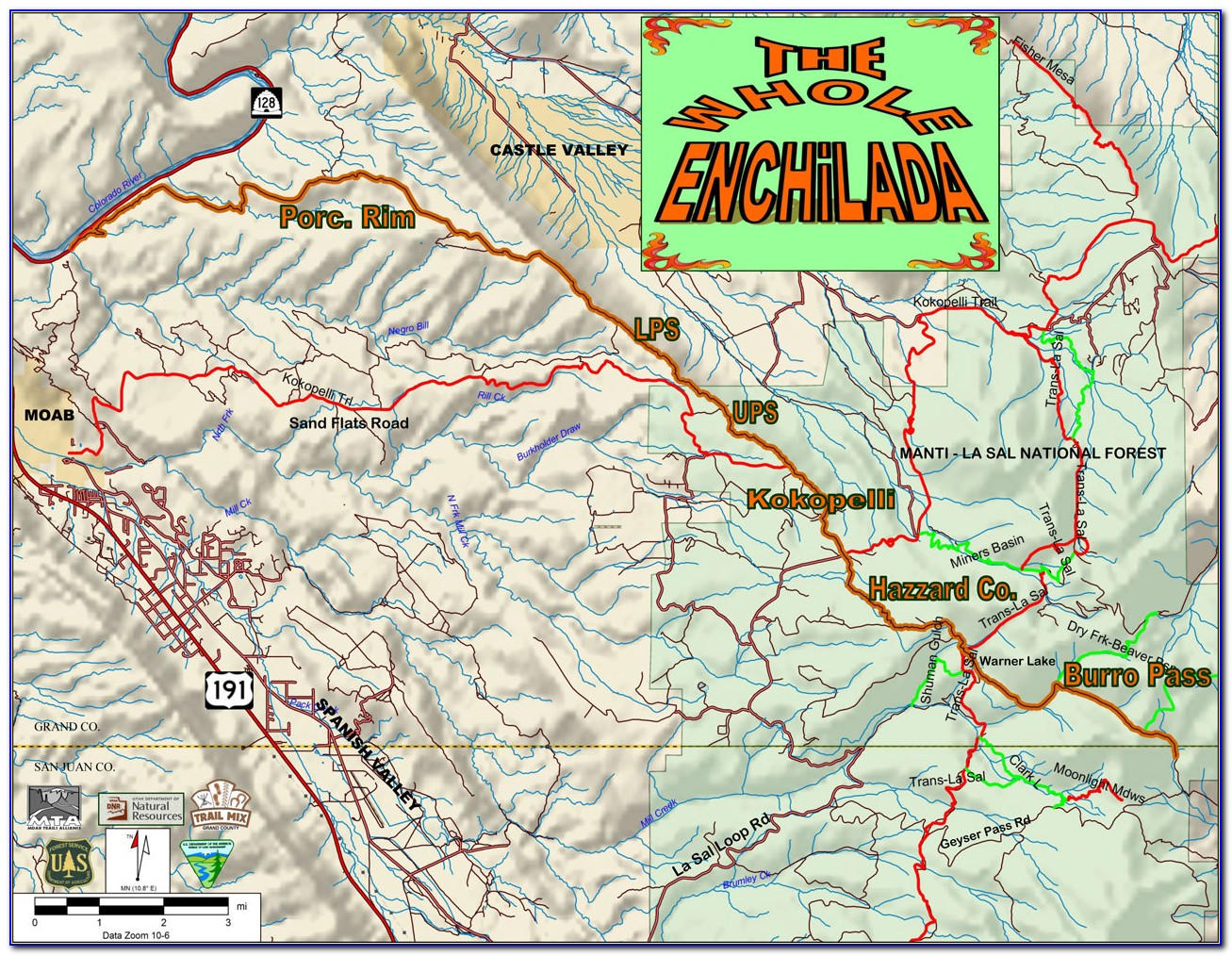 Moab Utah 4×4 Trail Maps