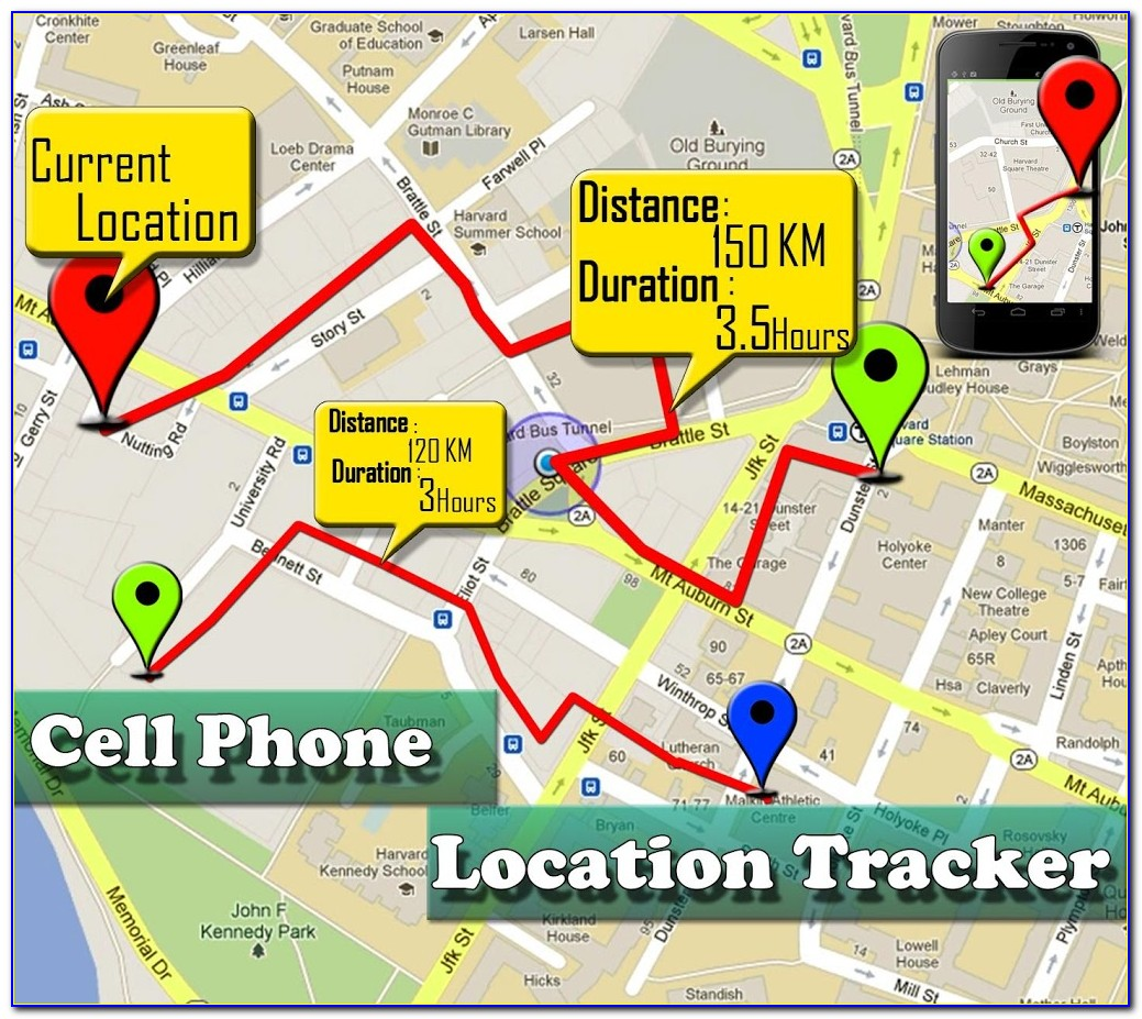 Mobile Phone Number Location Map