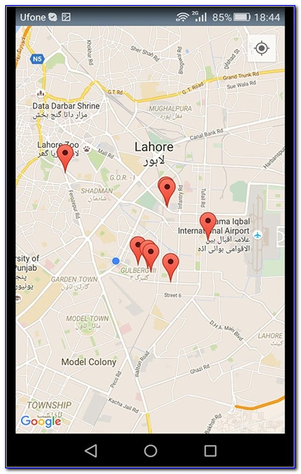 Mobile Phone Tracker With Google Maps