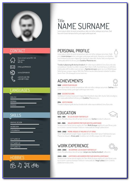 Modern Resume Template Free Download Australia