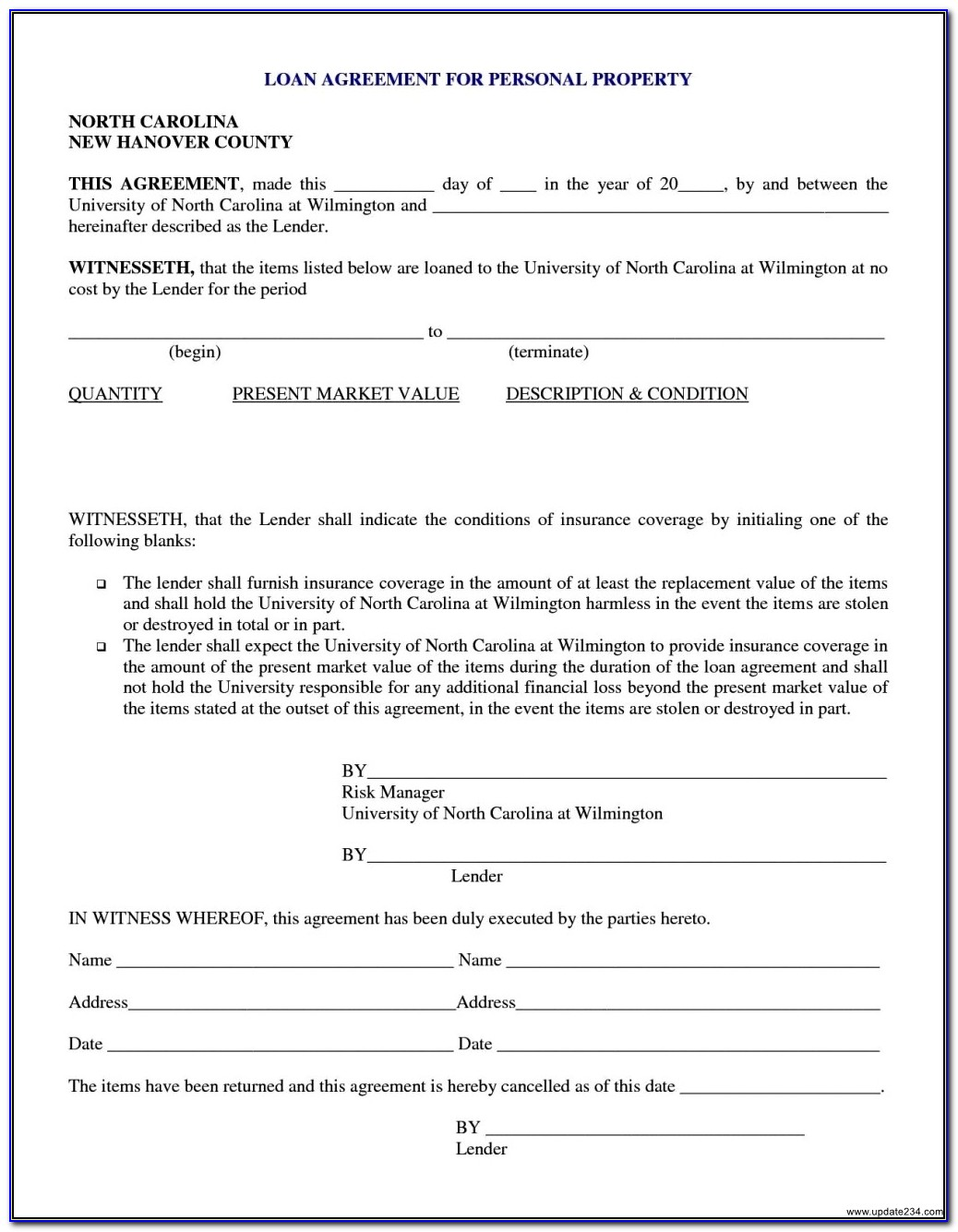 Money Loan Agreement Template Vincegray2014