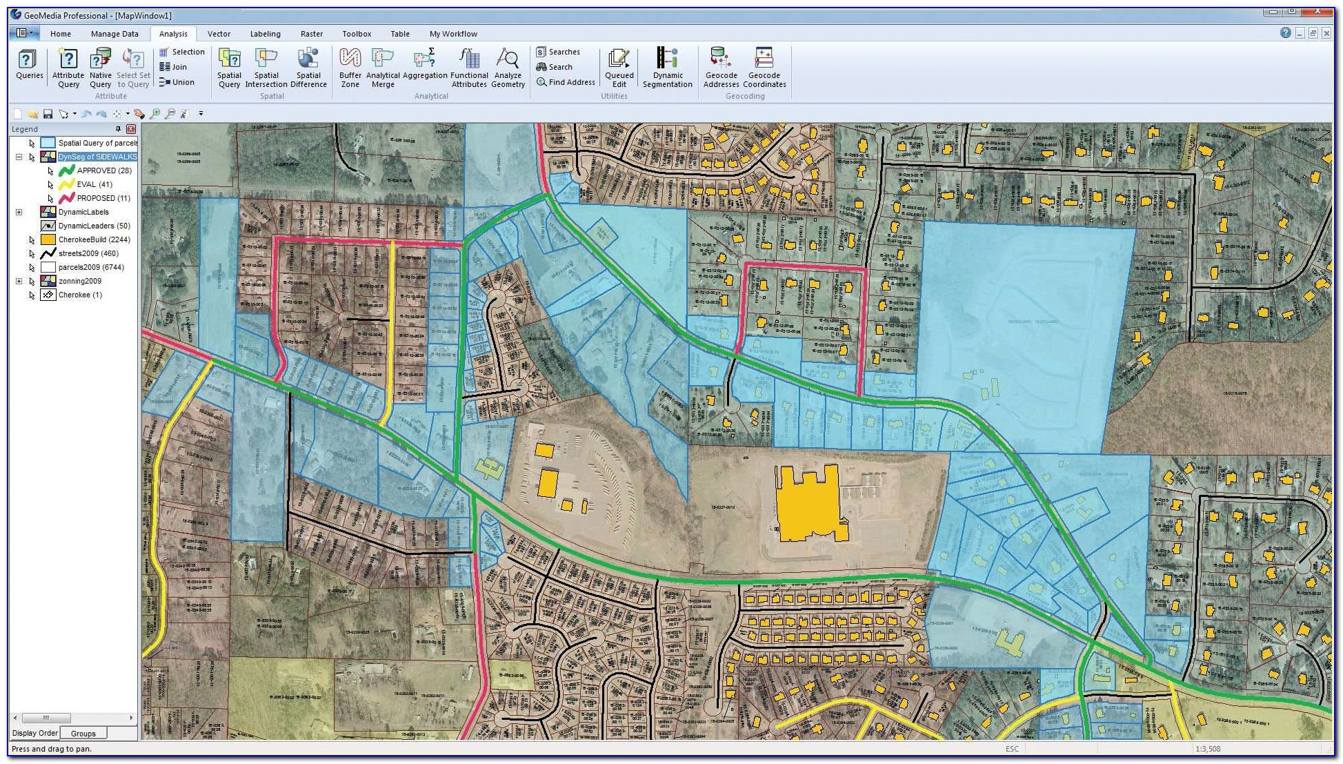 Geographic Information System (gis) Software