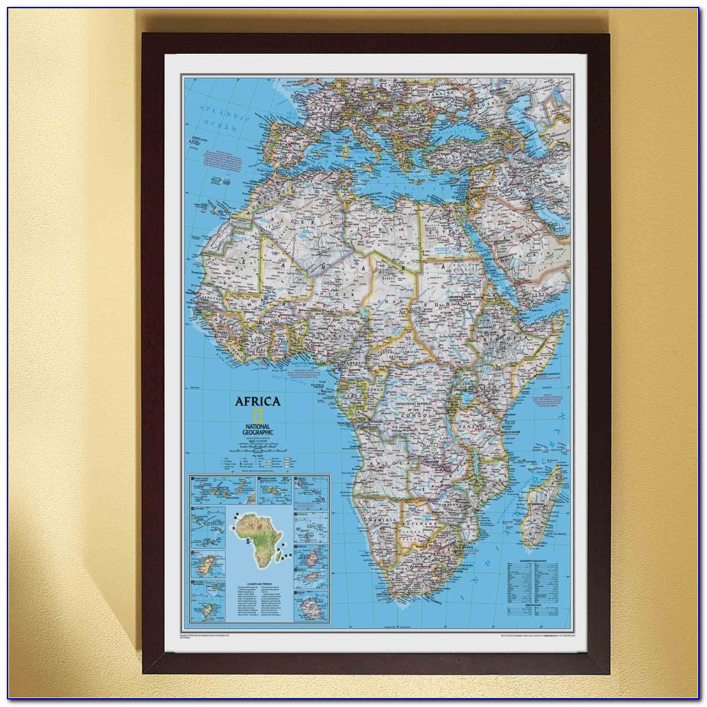 National Geographic My World Personalized Map